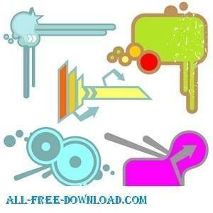 free vector Cool Vector Set