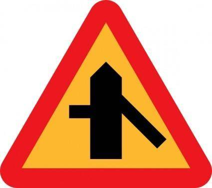 Roadlayout Sign clip art