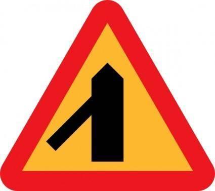 Roadlayout Sign clip art