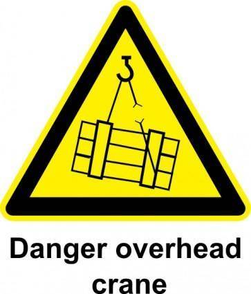 free vector Sign Overhead Crane clip art