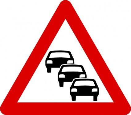 Pommi Traffic Sign clip art