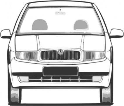 free vector Fabia Front View clip art