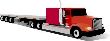 free vector Container Truck clip art