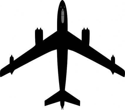 free vector Boeing Plane clip art