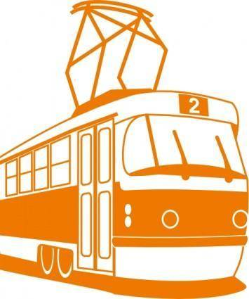 Tramway clip art