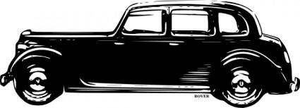 Old Rover Car clip art