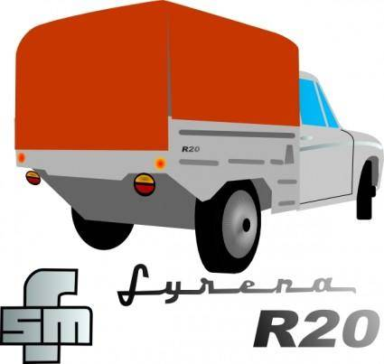 free vector Lorry Truck clip art