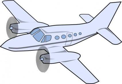 free vector Aircraft2 clip art