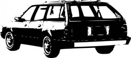 1989 Chevrolet Celebrity Wagon clip art