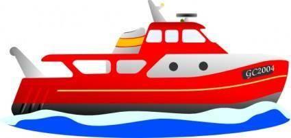 Trawler clip art