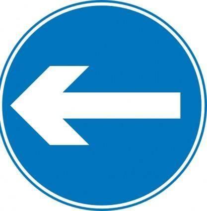 Svg Road Signs clip art