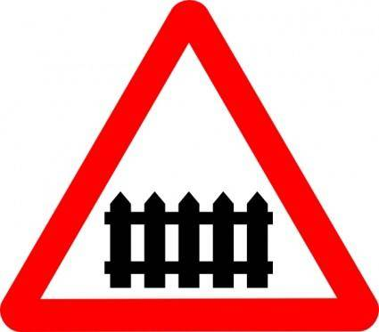 Rail Roadsigns clip art