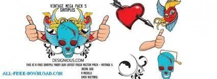 free vector Mega Pack5 Sample