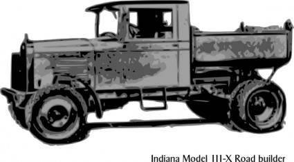 Old Truck Indana Model clip art