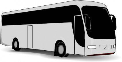 free vector Travel Bus clip art