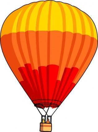 free vector Hot Air Balloon clip art