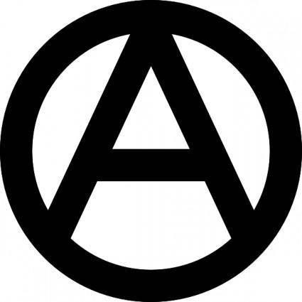 Anarchy Symbol clip art