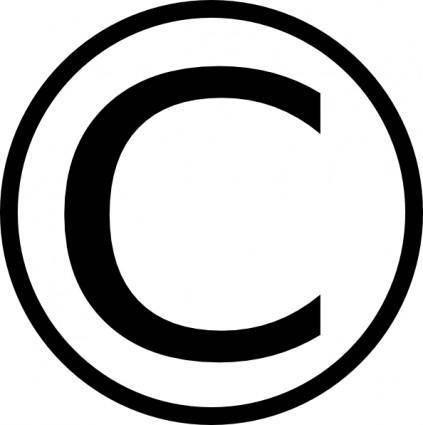 Copyright clip art