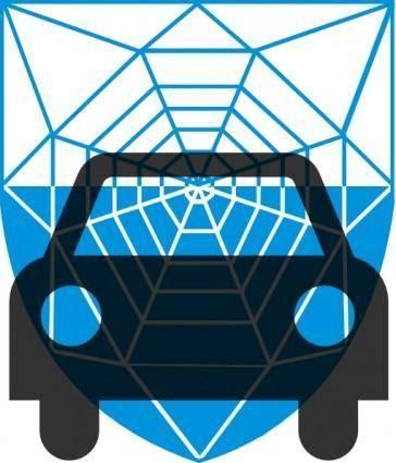 free vector Auto Insurance Network clip art