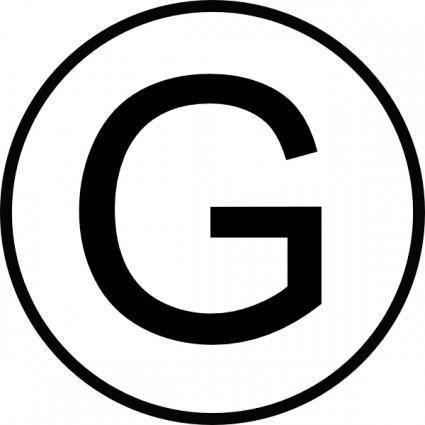free vector Electric Generator Symbol clip art
