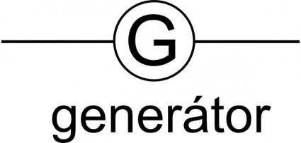 Znacka Generatoru clip art