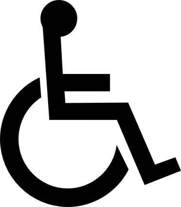 free vector Wheelchair Symbol clip art
