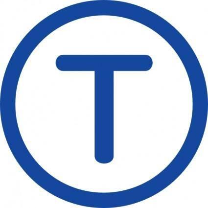 Tramway T clip art