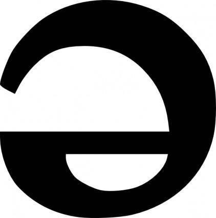 free vector Schwa Ipa Symbol clip art