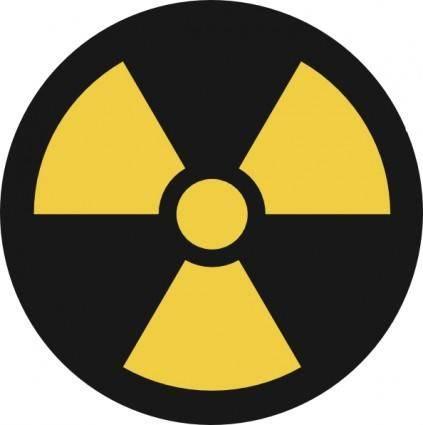 Nuclear Symbol clip art