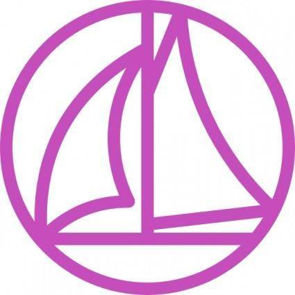 Marina Maritime Symbol clip art