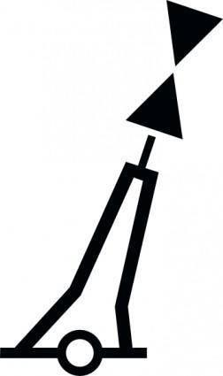 free vector Nchart Symbol Int Cardinal Mark Pillar W clip art