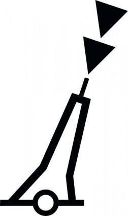 free vector Nchart Symbol Int Cardinal Mark Pillar S clip art