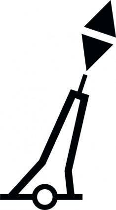 free vector Nchart Symbol Int Cardinal Mark Pillar E clip art