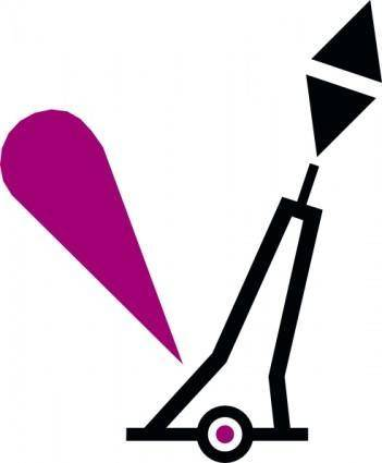 free vector Nchart Symbol Int Cardinal Lightedmark Pillar E clip art