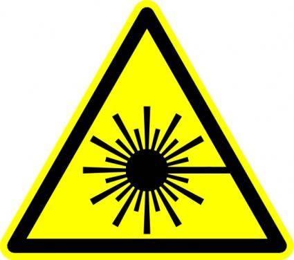 Laser Symbol clip art