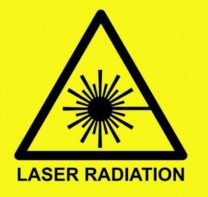 Laser Symbol Text clip art