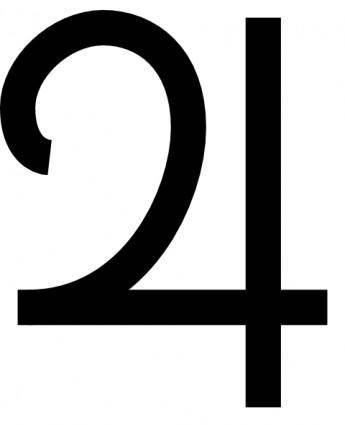 Jupiter Symbol clip art