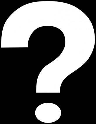 Inverted Question Mark Alternate clip art