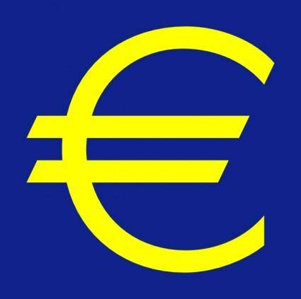 Euro Symbol clip art