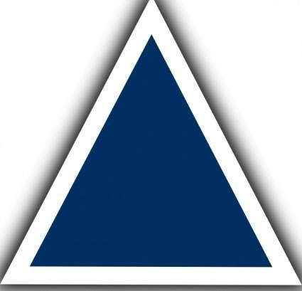 Air Traffic Control Waypoint Triangle clip art