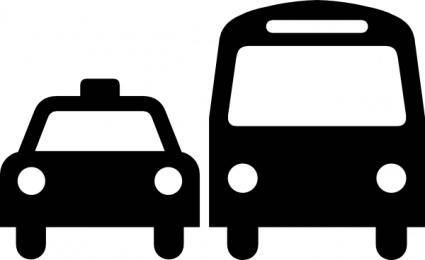 free vector Ground Transportation Symbol Sign clip art