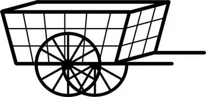 Cart clip art