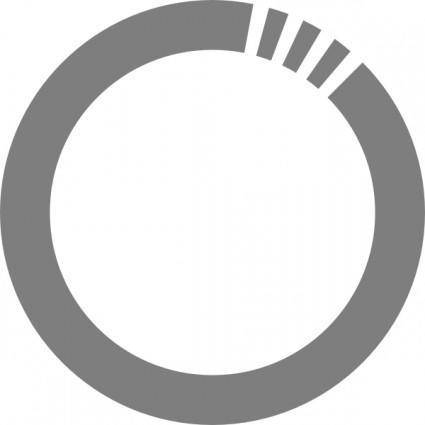 Futurist Circle clip art