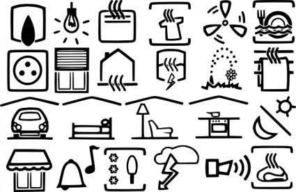 Electric Symbols clip art