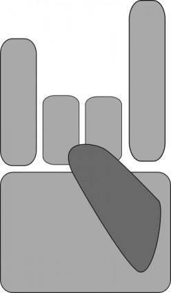 free vector Heavy Metal  clip art