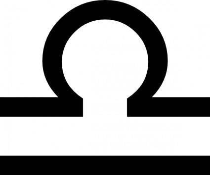 Zodiac Libra clip art