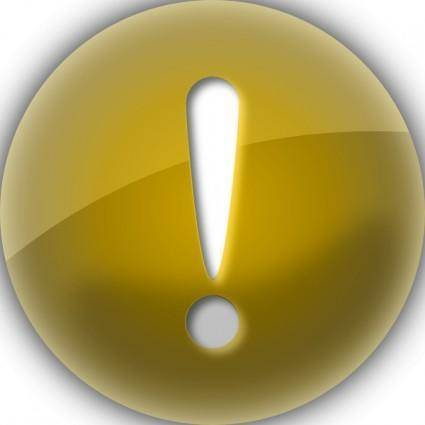 free vector Alert Warning clip art