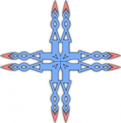 Cross Symbol clip art
