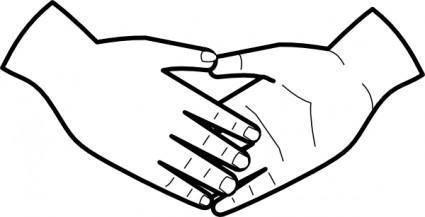 Shaking Hands clip art