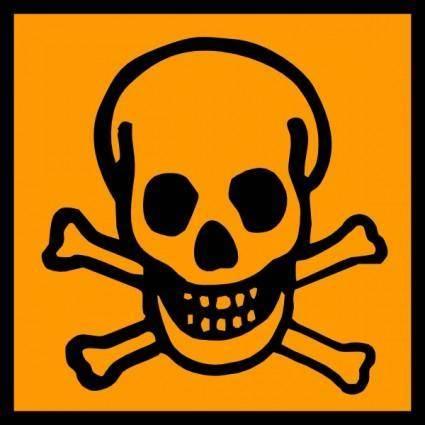 Toxic Poisonous clip art